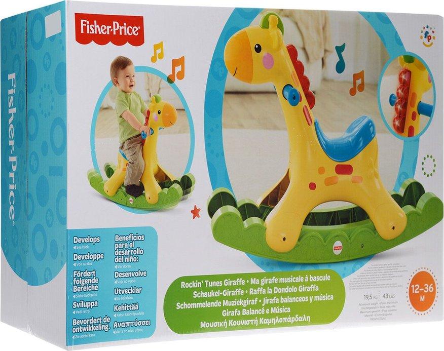 Raffa La Dondolo Giraffa.Fisher Price Rockin Tunes Giraffe Bbw07 Christmas Presents