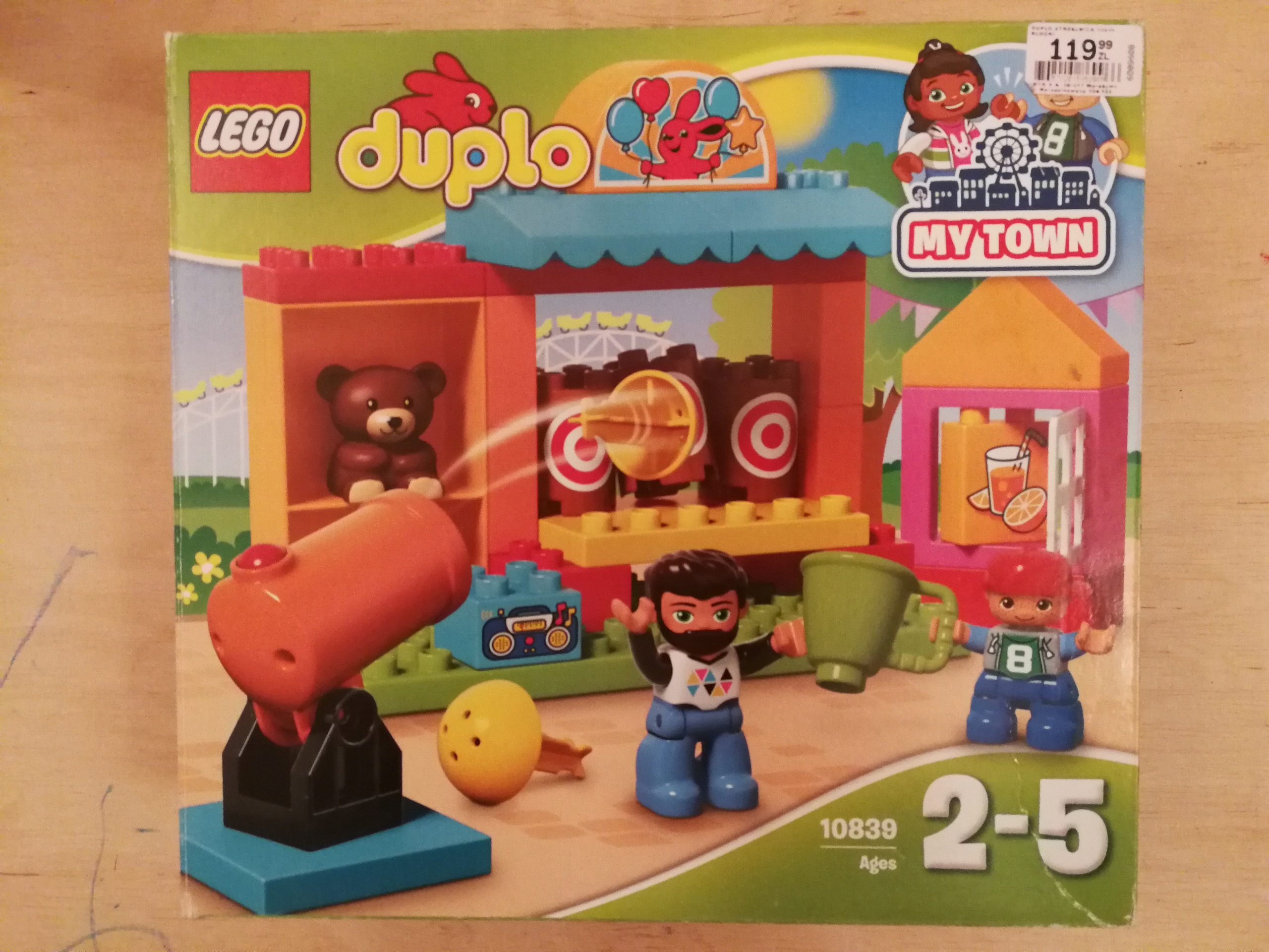 Lego Duplo 10839 Strzelnica Wesołe Miasteczko 7692261364
