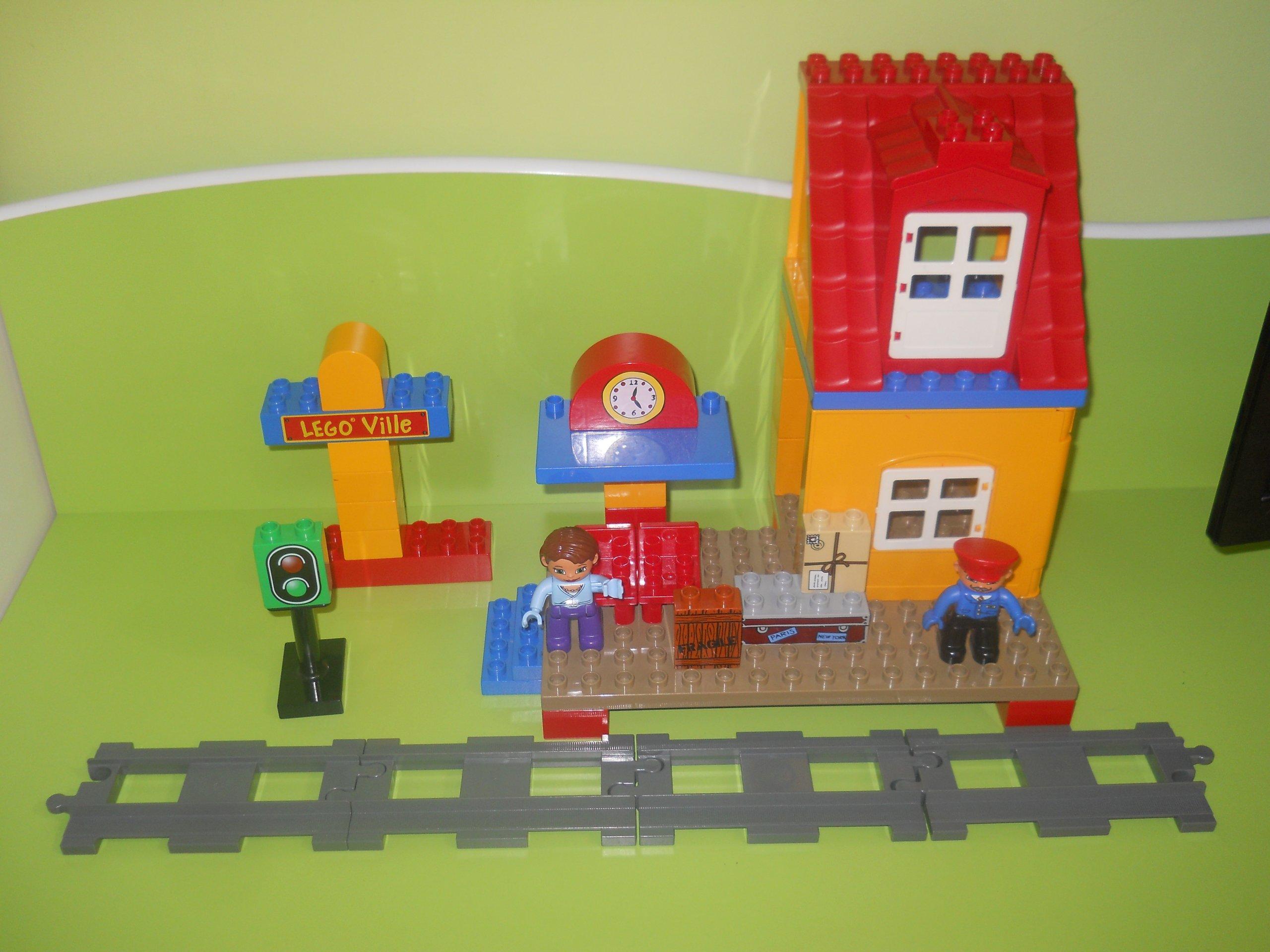 Lego Duplo 3778 Stacja Kolejowa Pociąg Tory 7121131429
