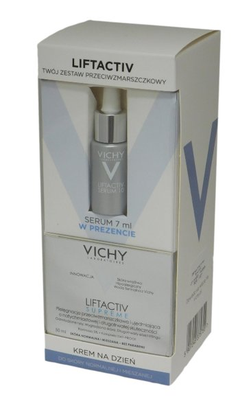 VICHY ZESTAW LIFTACTIV S. normalna 50ml +SERUM 7ml
