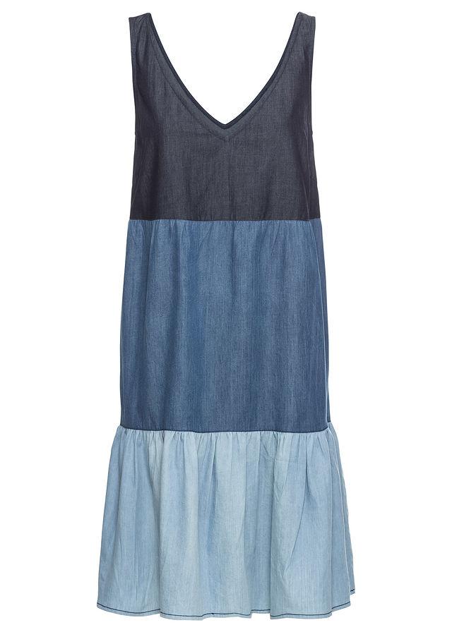 3eaa301dfb Sukienka dżinsowa niebieski 36 S 914474 bonprix - 7555234197 ...