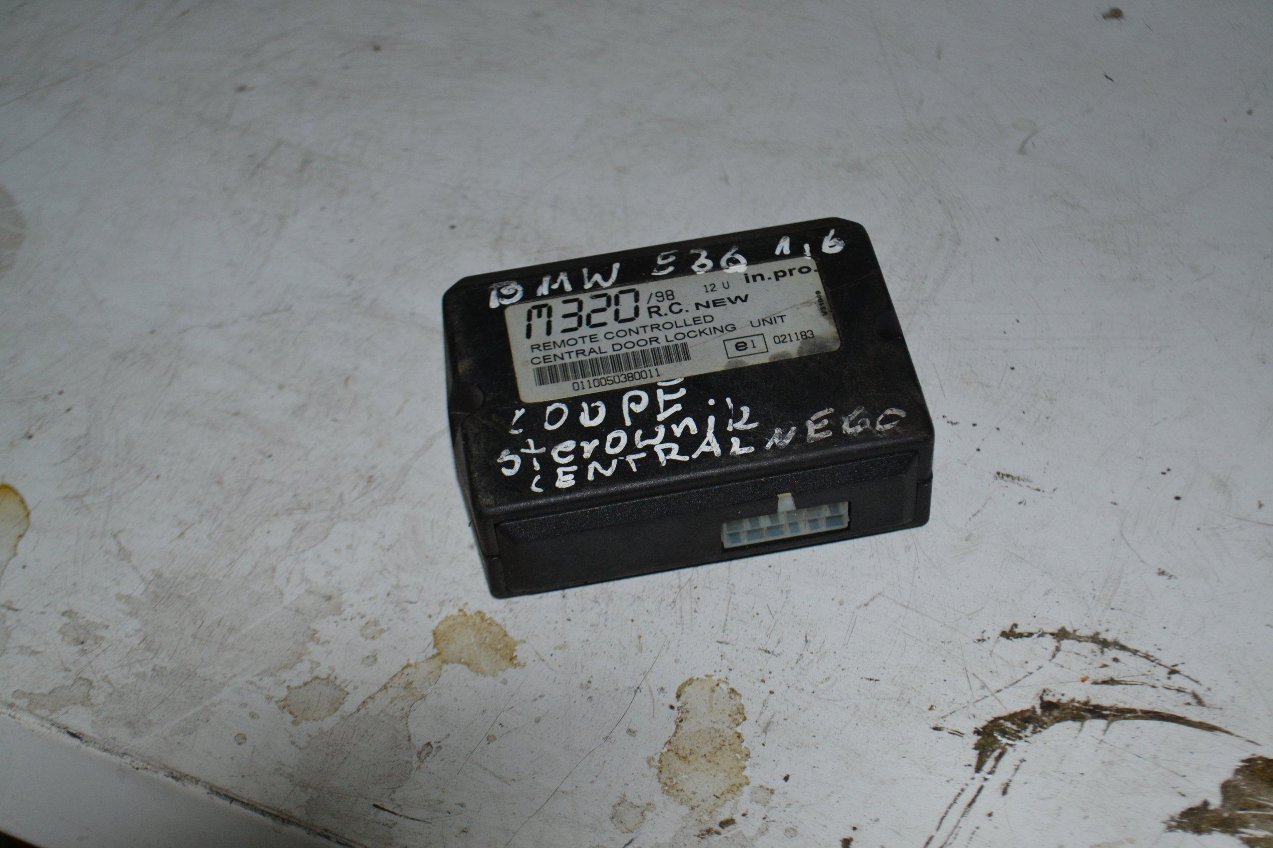 f83633959 MODUŁ ZAMKA CENTRALNEGO BMW E36 COUPE - 7258303672 - oficjalne archiwum  allegro