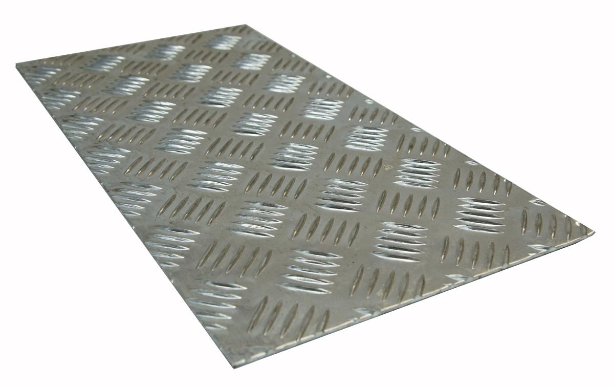 BLACHA ALUMINIOWA RYFLOWANA 1000 x 200 x 2 mm