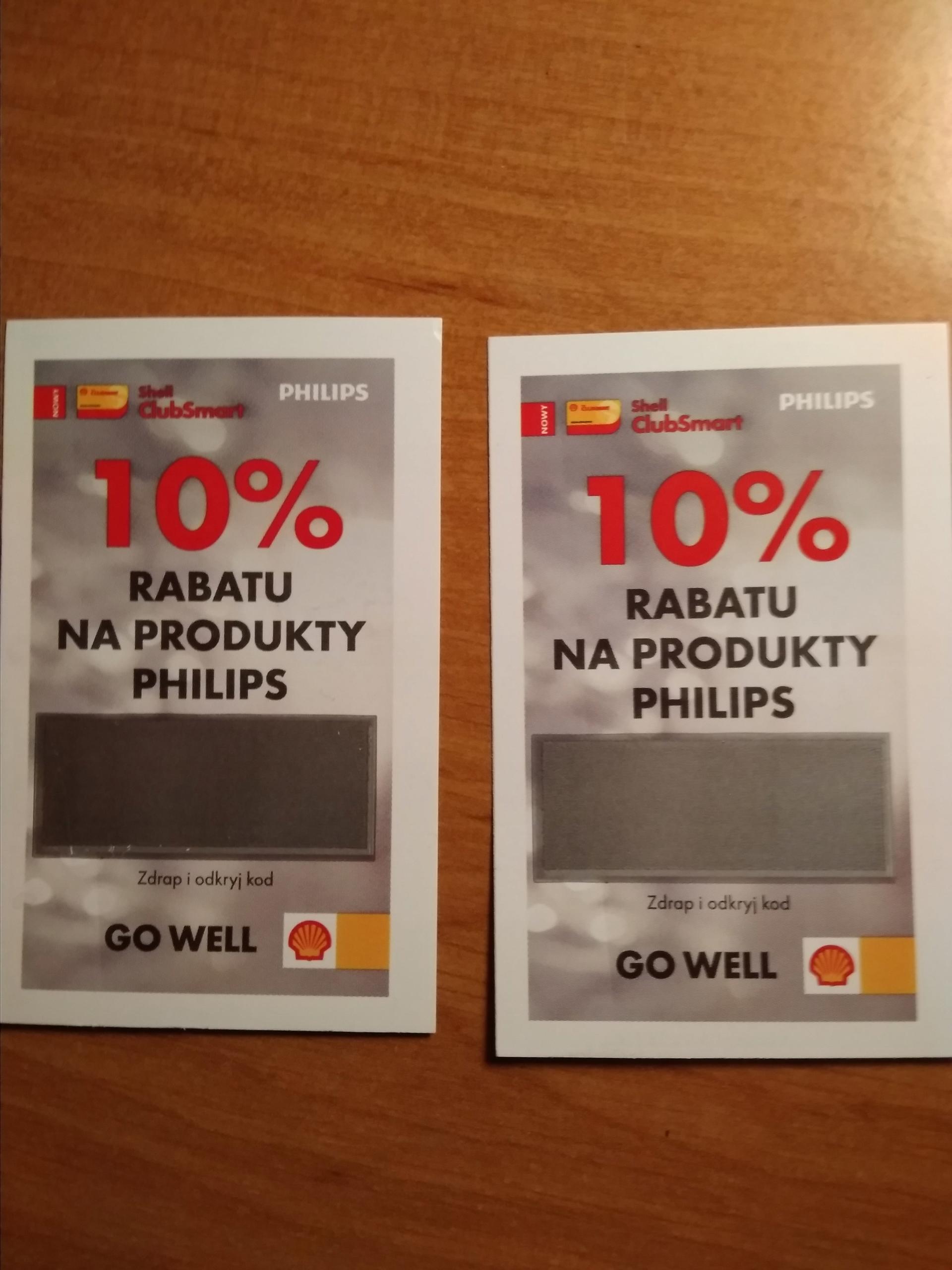 Shell philips kupon 20 procent
