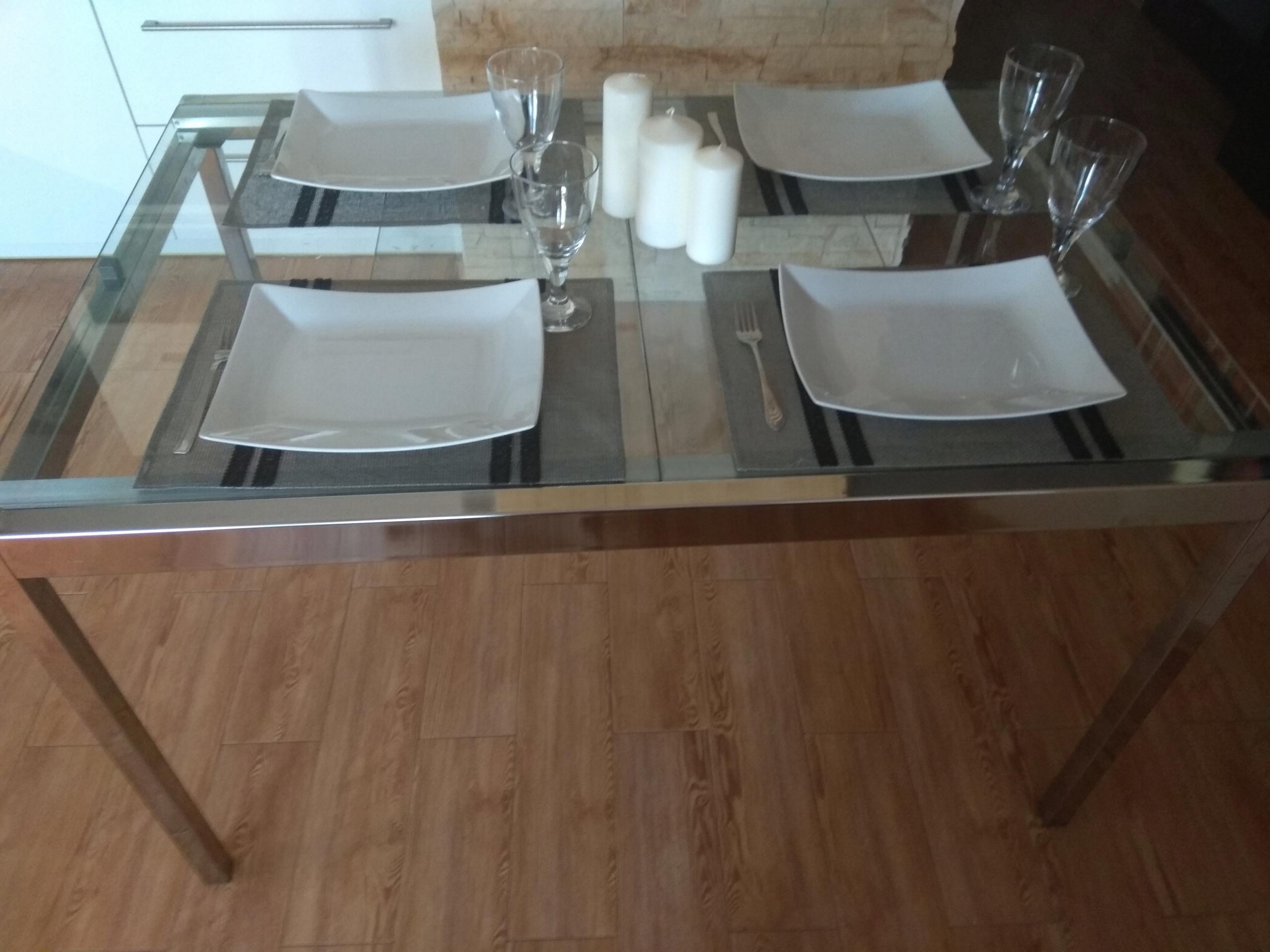 Ikea Stol Szklany Rozkladany Wzor Glivarp 7455716035 Oficjalne