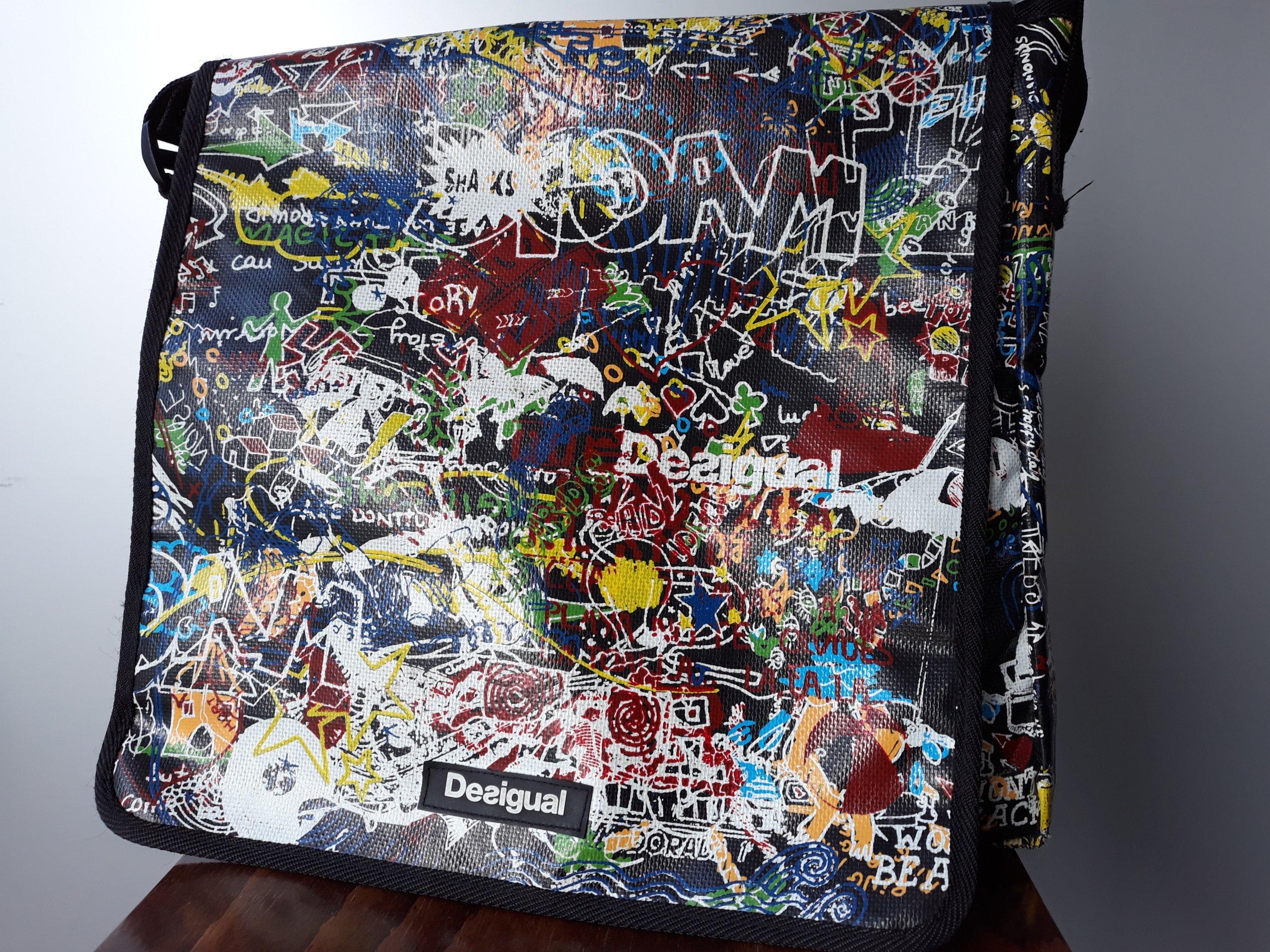 7dd8b830aa039 DESIGUAL - torba na ramię - 7340610021 - oficjalne archiwum allegro