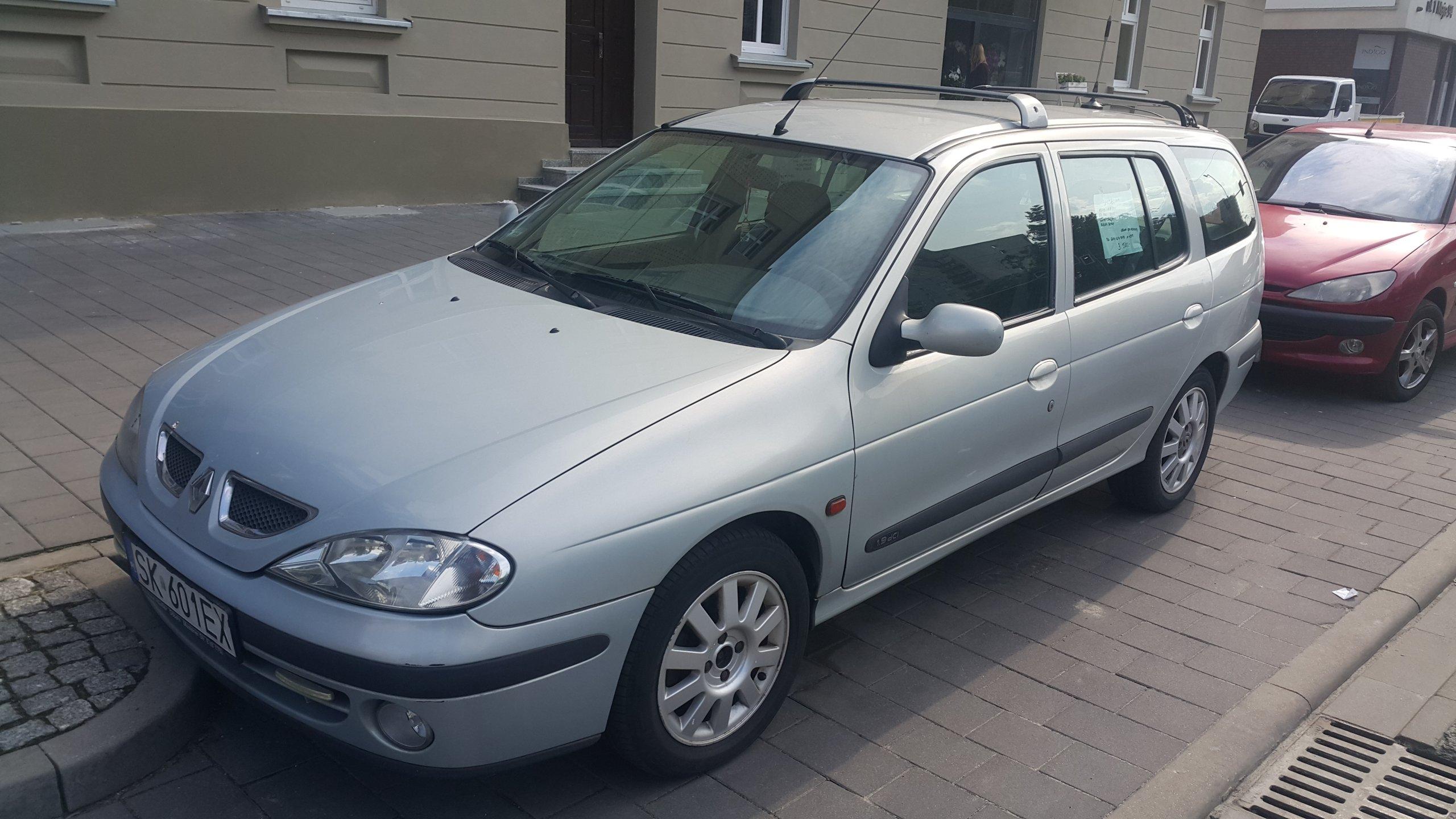 Wspaniały Renault Megane Kombi 1.9 dci 2001! 100% sprawny! - 7364174512 CV44