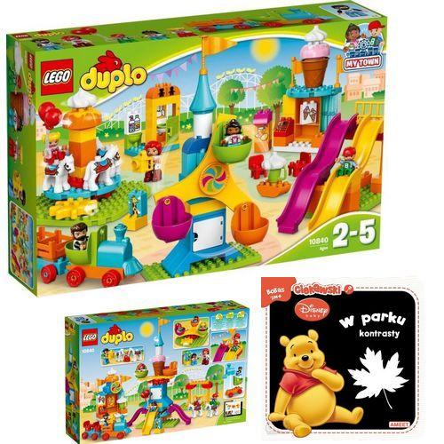 Lego Duplo 10840 Duże Wesołe Miasteczko Książka 6842383270