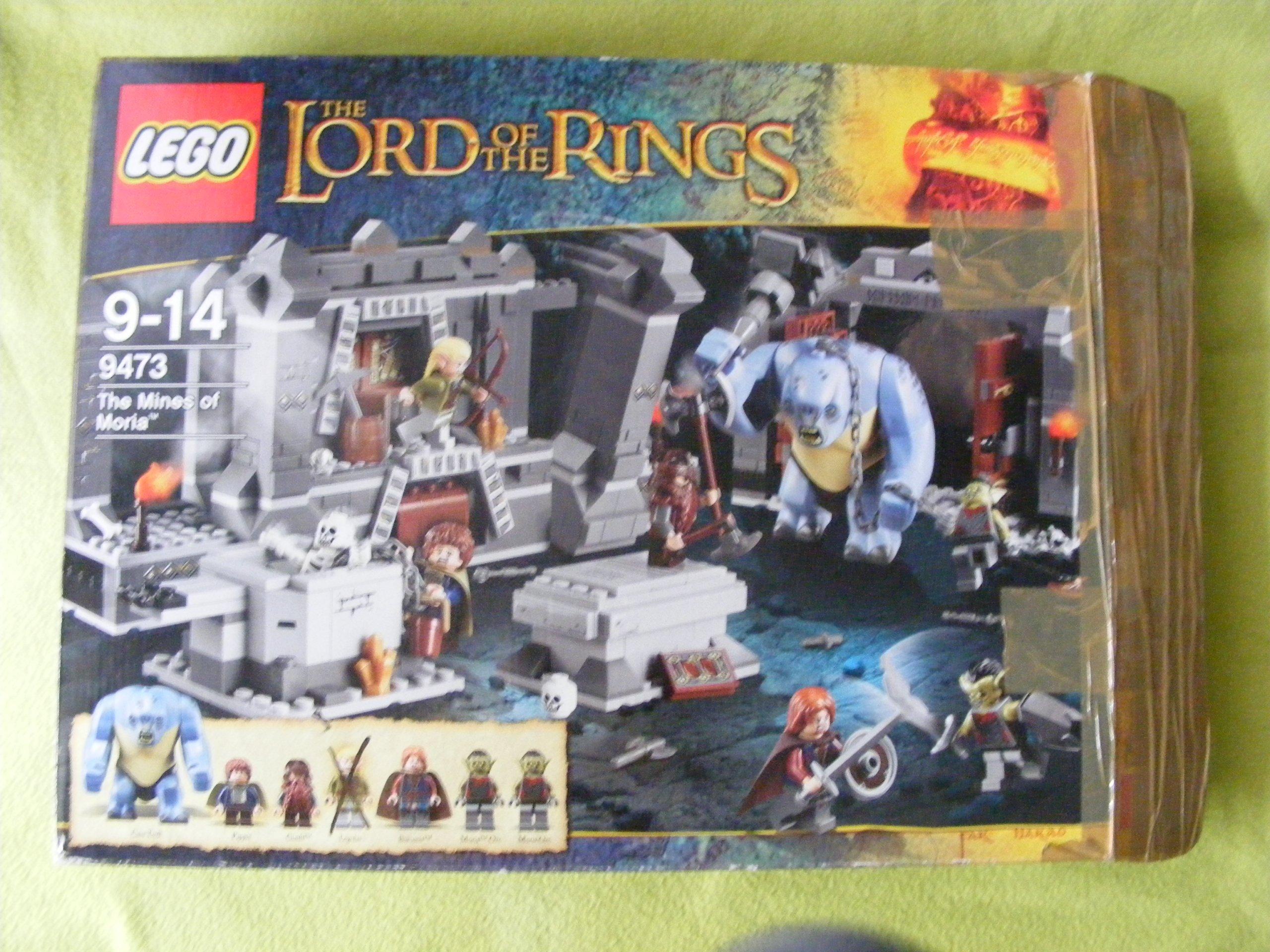 Klocki Lego Zestaw 9473 Lord Of The Rings 7234336475 Oficjalne
