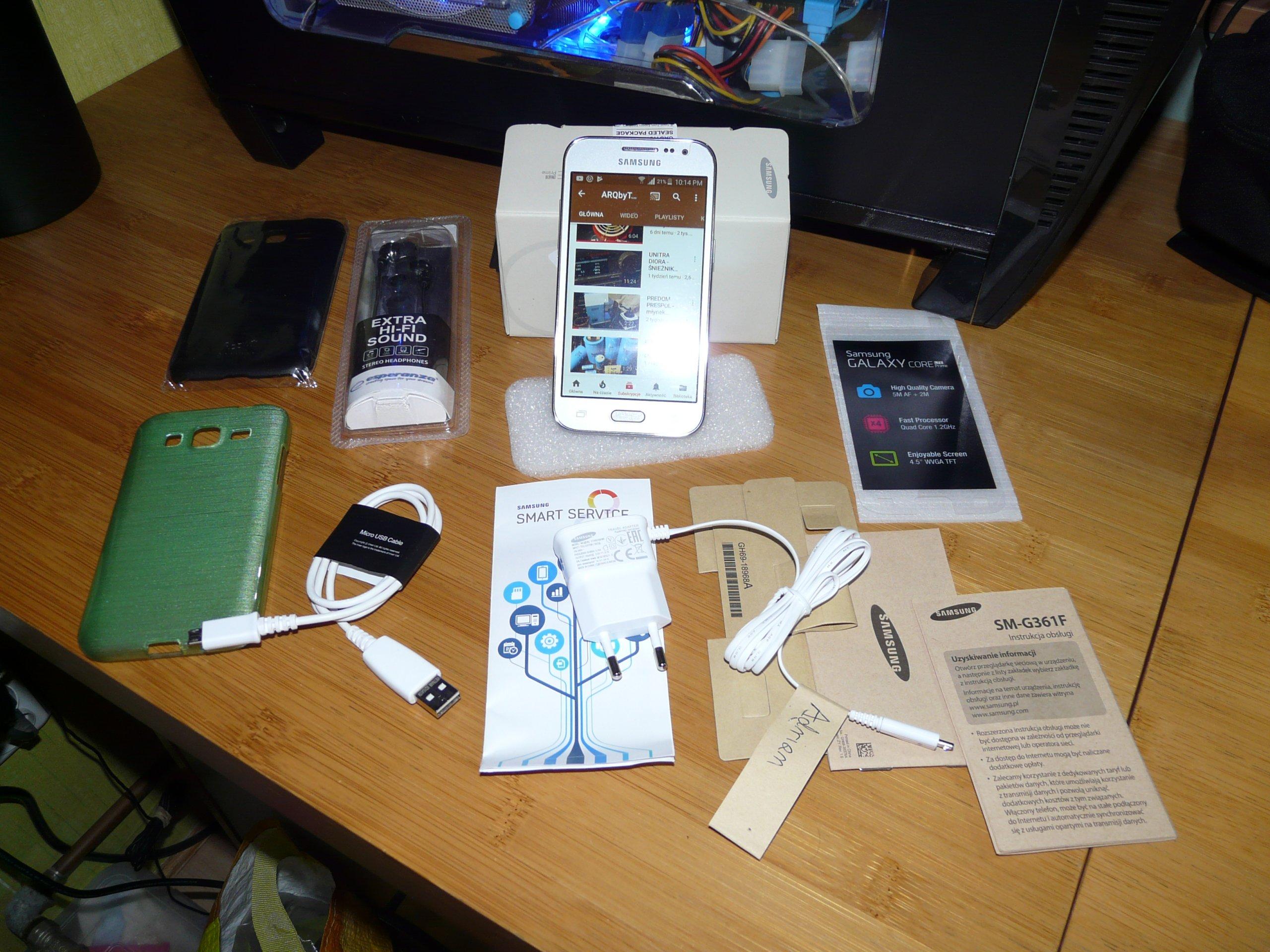 Samsung Galaxy Core Prime LTE Silver SM G361F