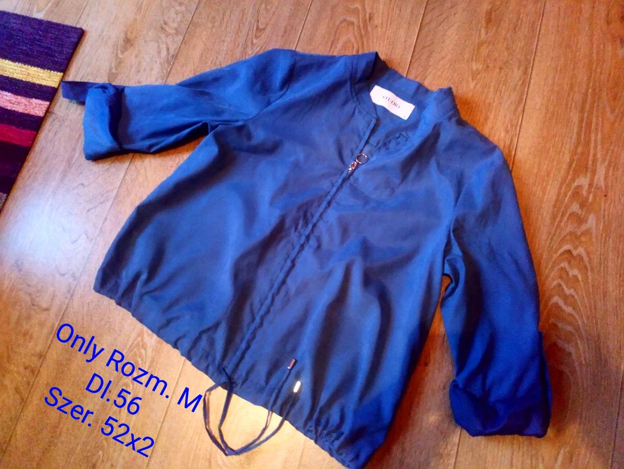1a1bb8c4119bf Żakiet M Only niebieski rękaw 3/4 rozpianany - 7673499961 ...