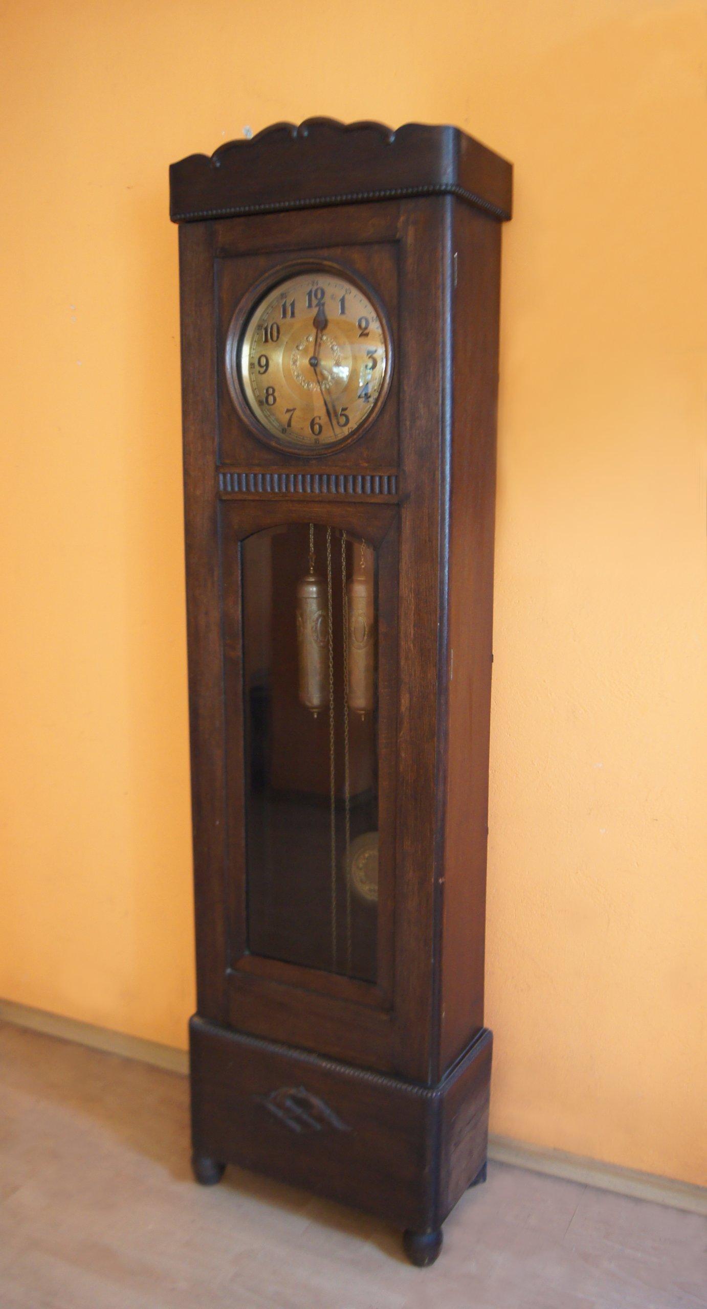 Zegar Stojący Przedwojenny Antyk 7340338679 Oficjalne