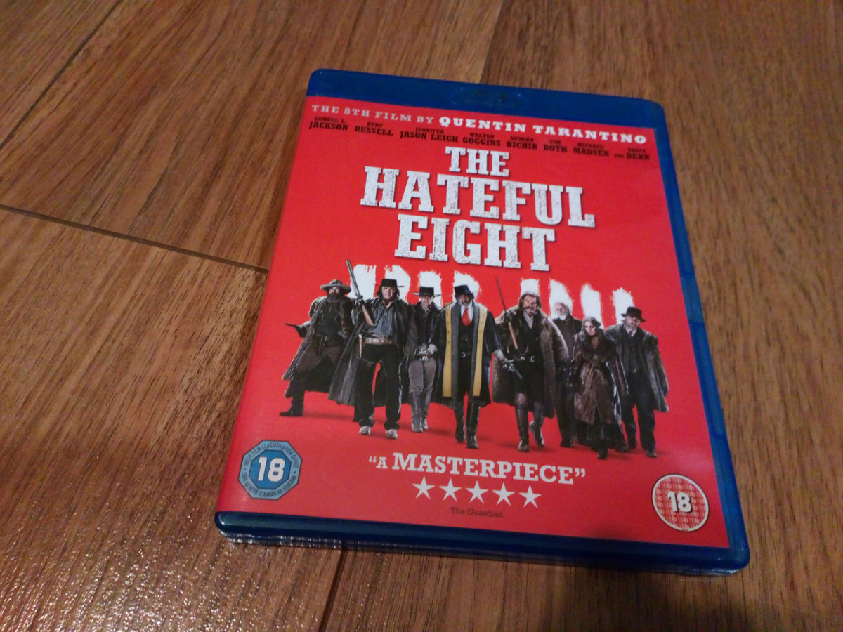 HATEFUL EIGHT NIENAWISTNA ÓSEMKA BLURAY TARANTINO