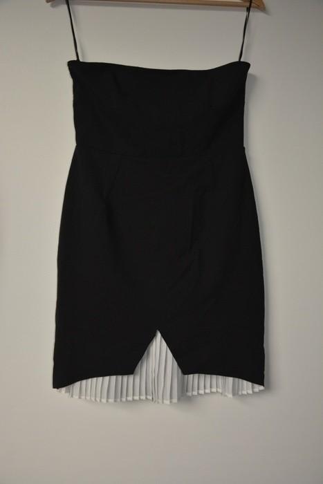 ee99ad0519 Nowa czarna sukienka Zara tuba z elegancka rozm.38 - 7300659591 ...