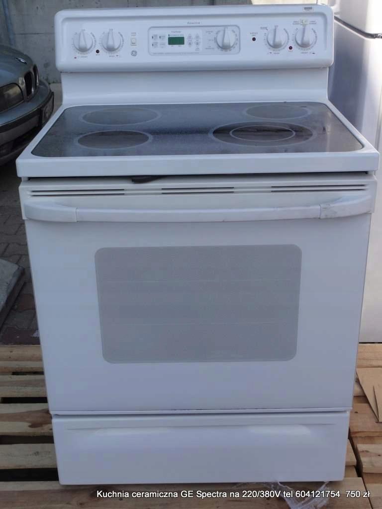 Duza Kuchnia Elektryczna Lub Gazowa 76 Cm Ge 7504837625
