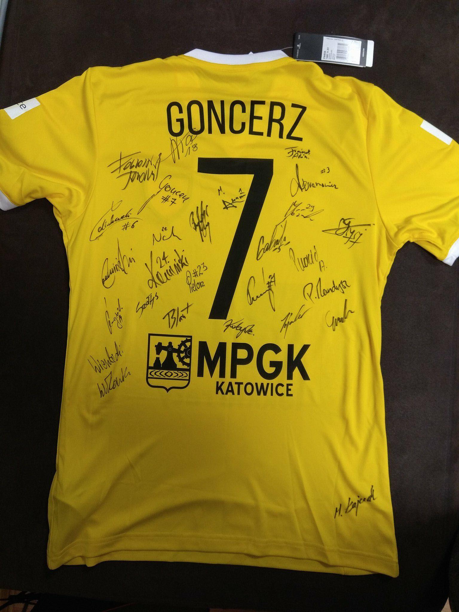 GKS Katowice koszulka Grzegorz Goncerz +autografy!