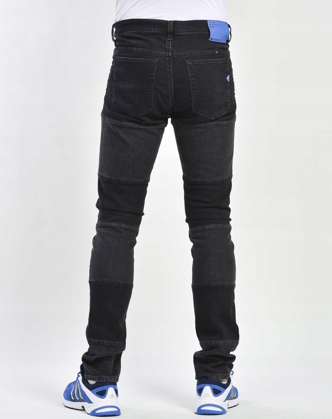 hot sales 8a6d8 d19d2 Adidas Mad Cab Skinny Fit Jeans męskie - W36  L32 (7427764293)