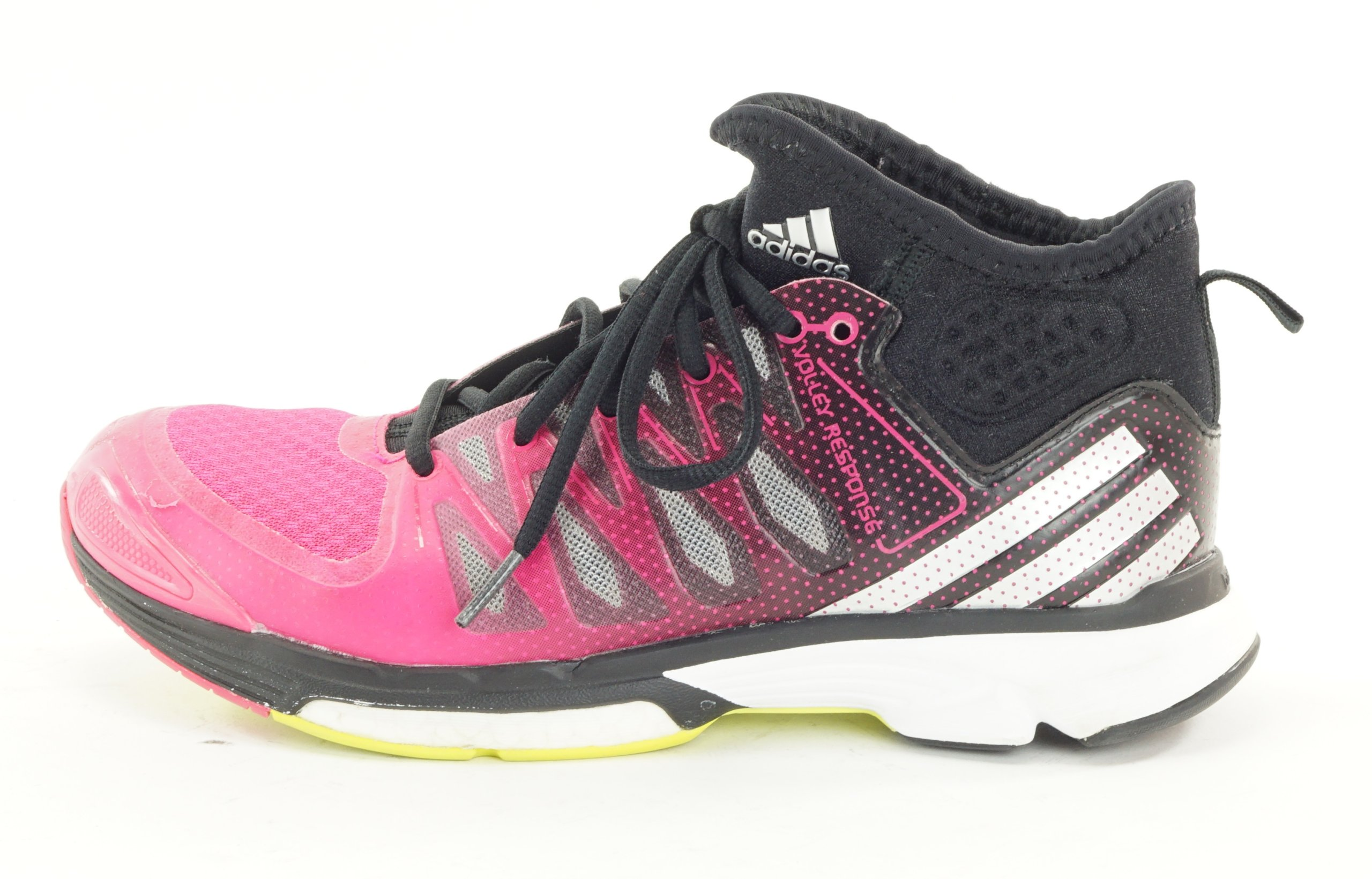 adidas volley response boost 2.0 pink