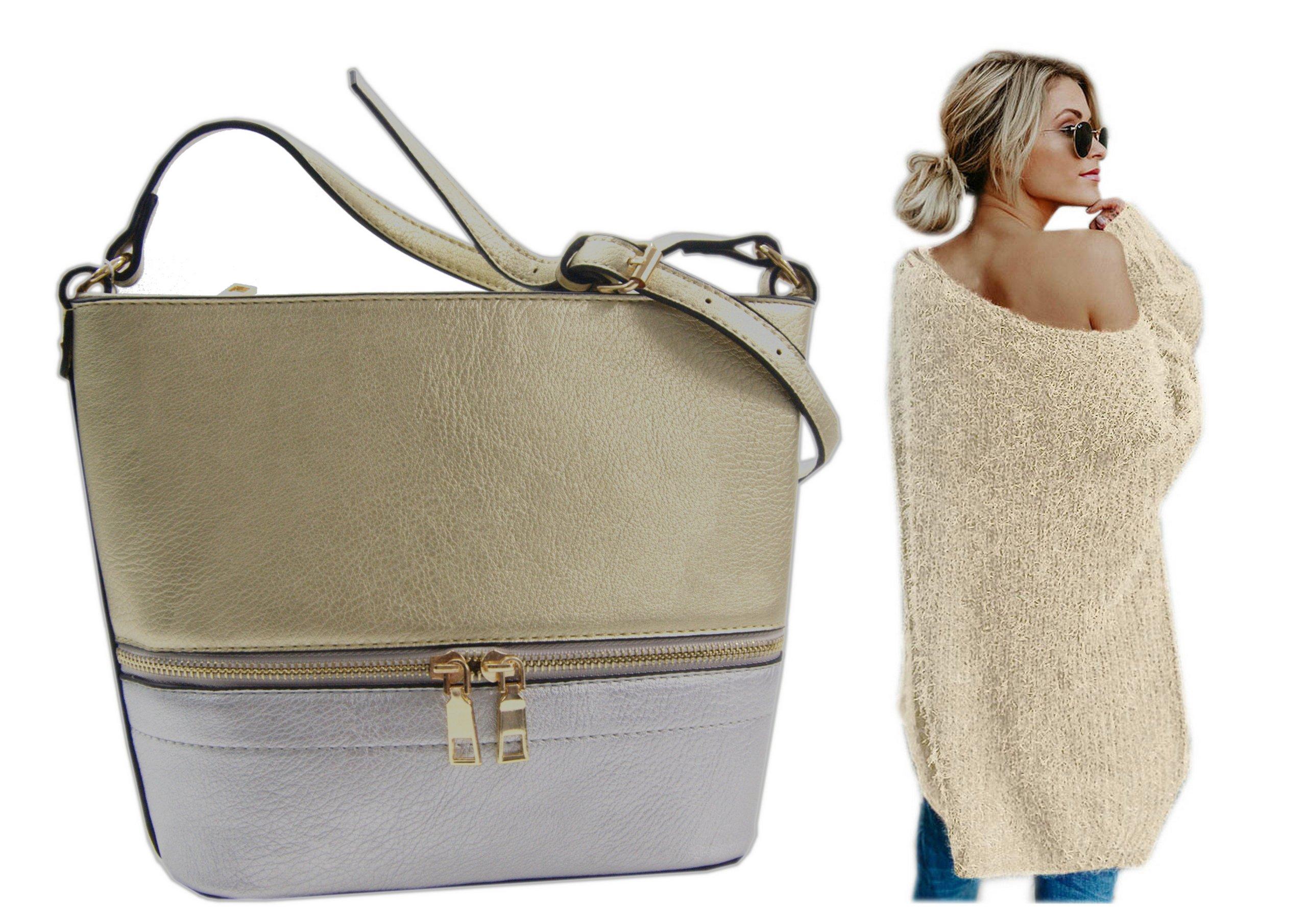 3656892fcc6a6 Mała torebka na ramie kuferek złota PROMOCJA - 7209391227 ...