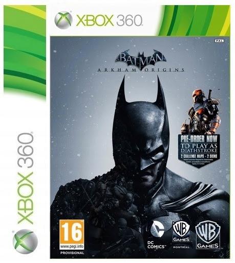 GRA BATMAN ARKHAM ORIGINS PL XBOX 360