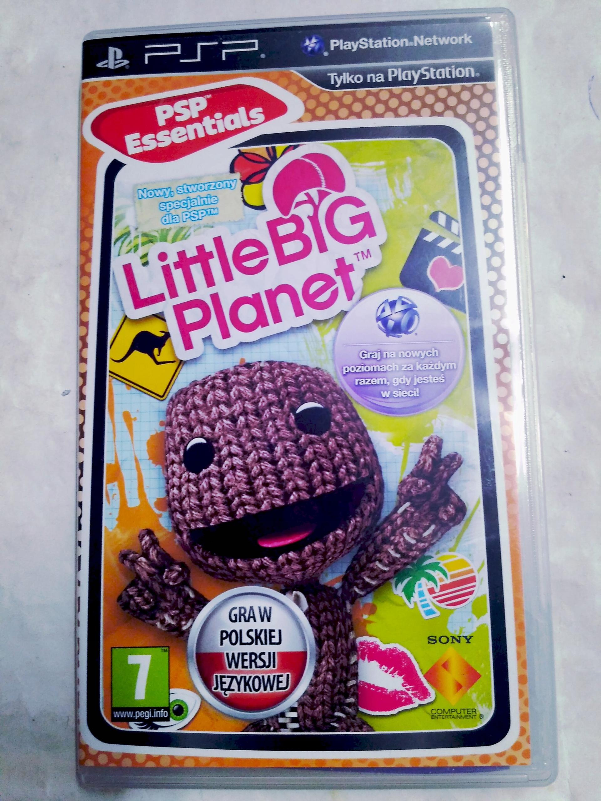 LittleBigPlanet PSP Polska Wersja