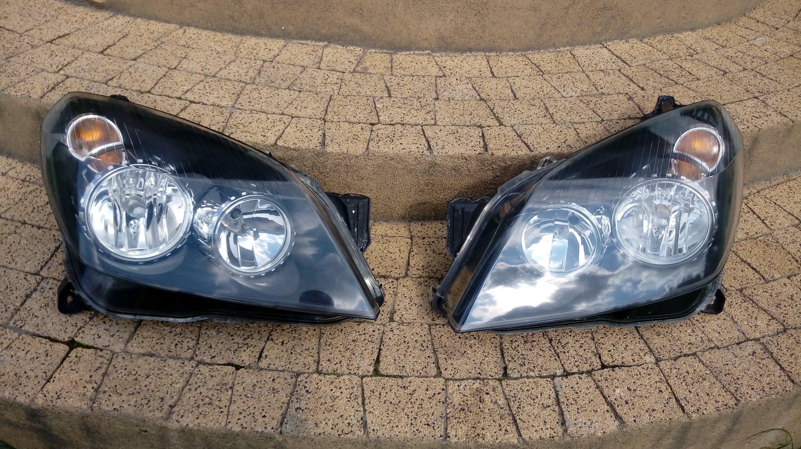 Opel Astra H Iii Lewa I Prawa ładna Lampa Przod 7652533862