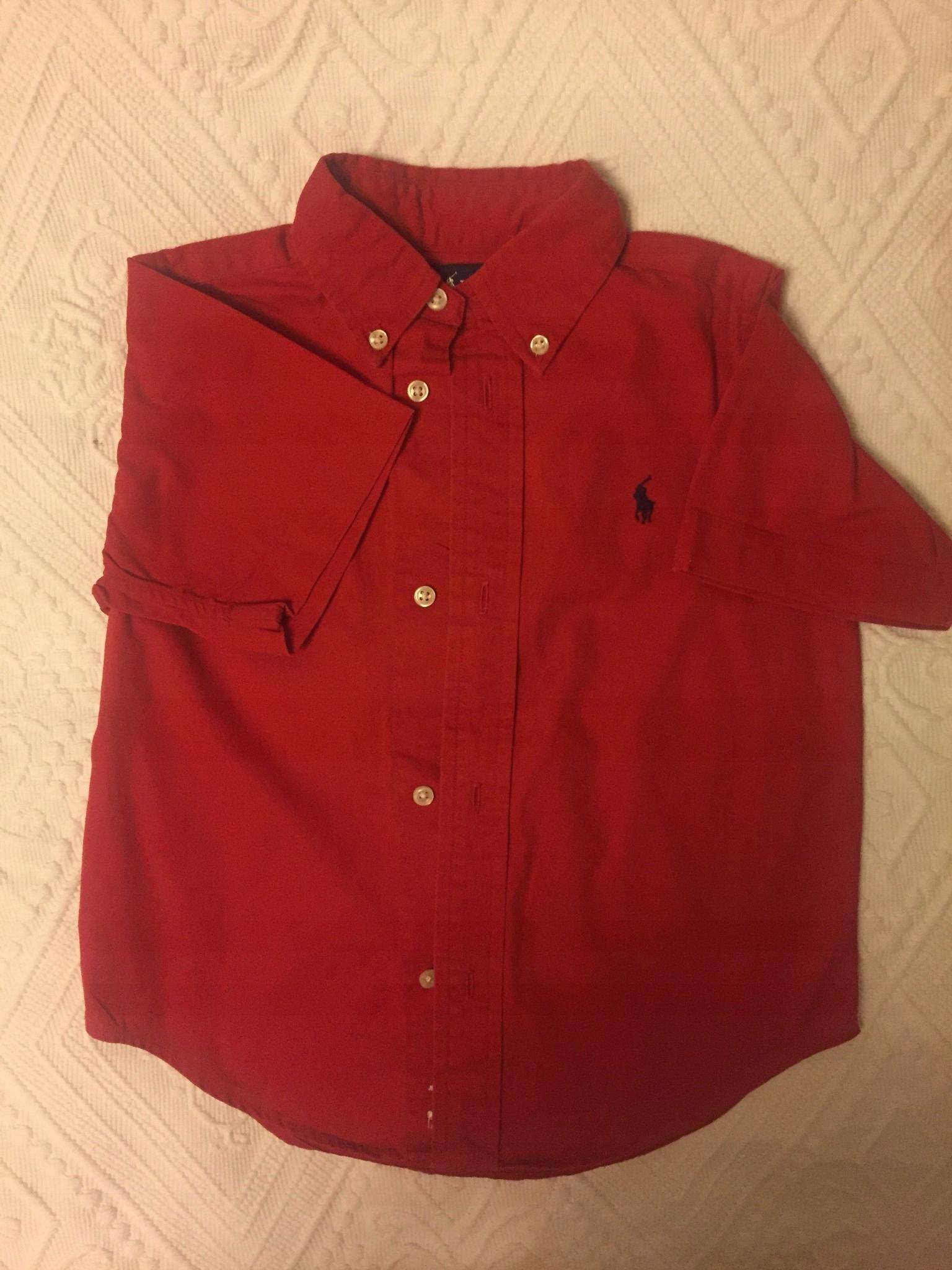 96b7f86d4 Koszula chłopięca Ralph Lauren - 7516703182 - oficjalne archiwum ...