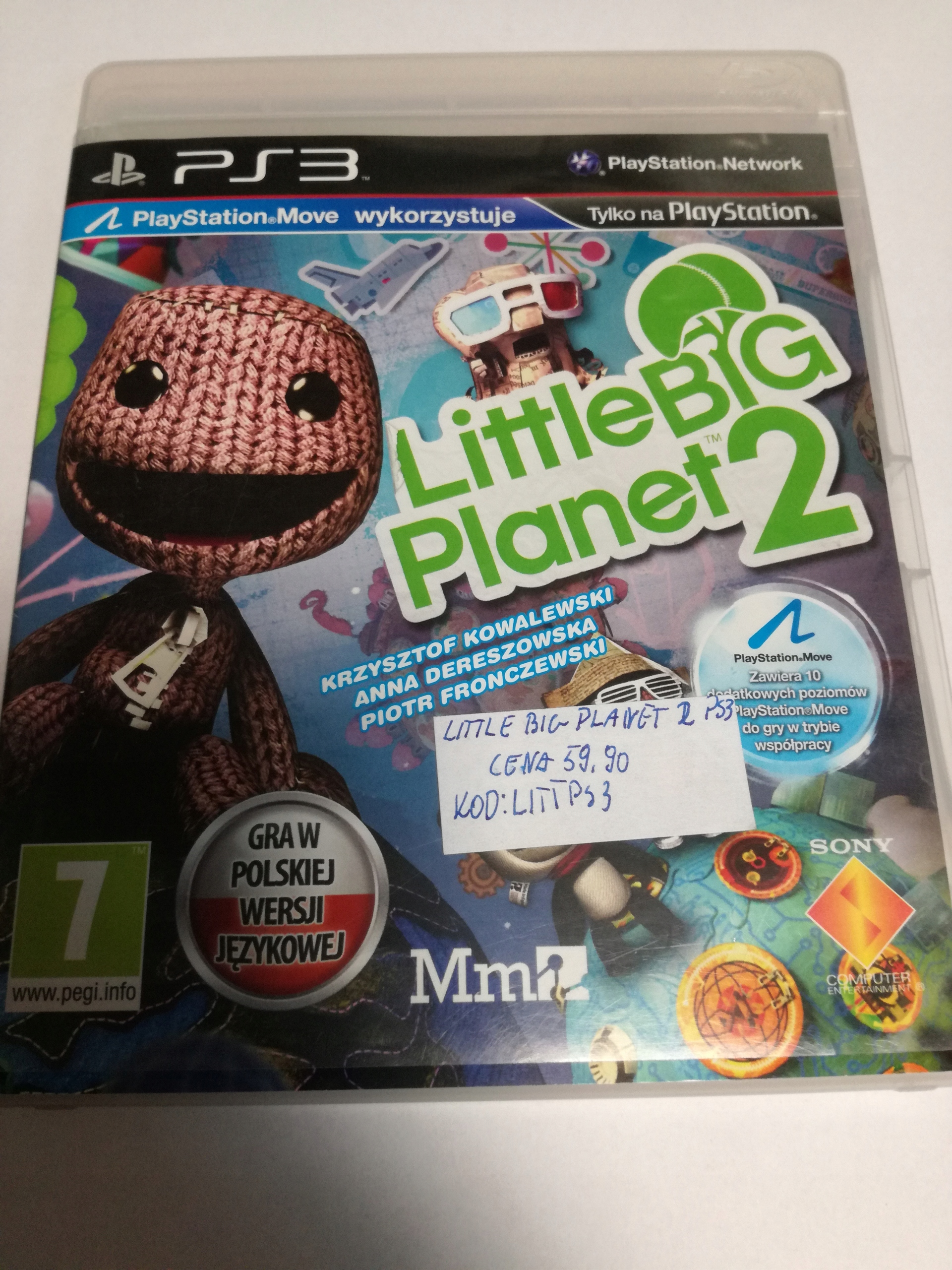 GRA LITTLE BIG PLANET 2 PS3 SKLEP TYCHY