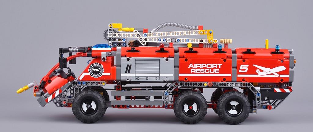Lego42068 Technics Wóz Strażacki 2w1 Nowy 7229323998 Oficjalne