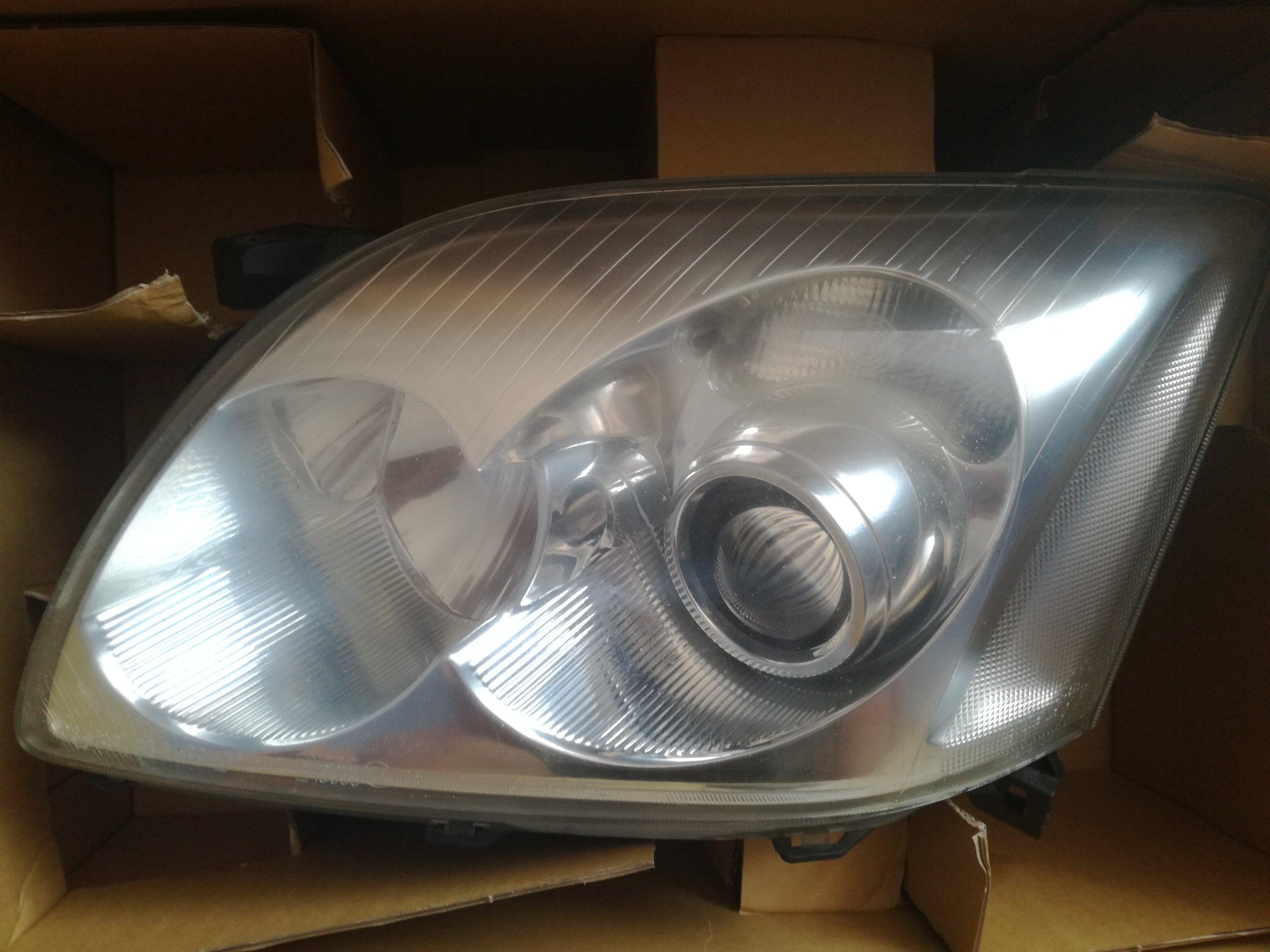 Lampy Przednie Reflektory Toyota Avensis T25 Eu 7340689236