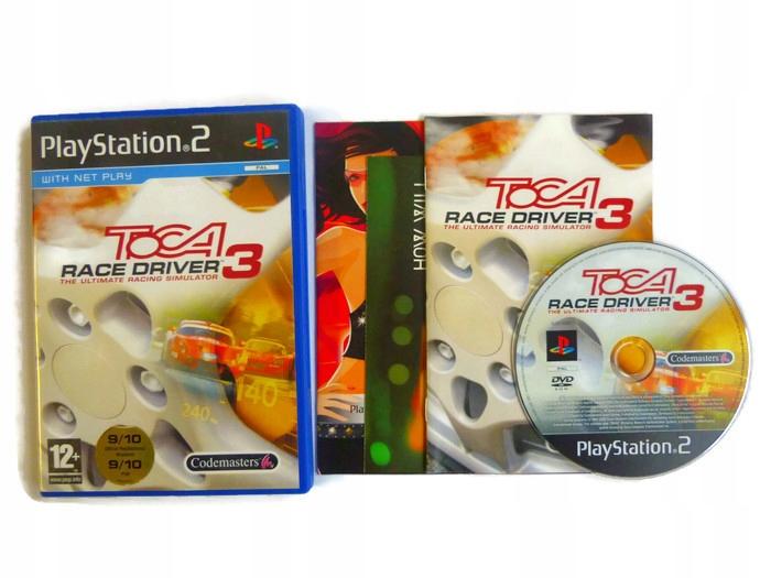 TOCA RACE DRIVER 3 PS2 PLAYSTATION 2 - 7670023396