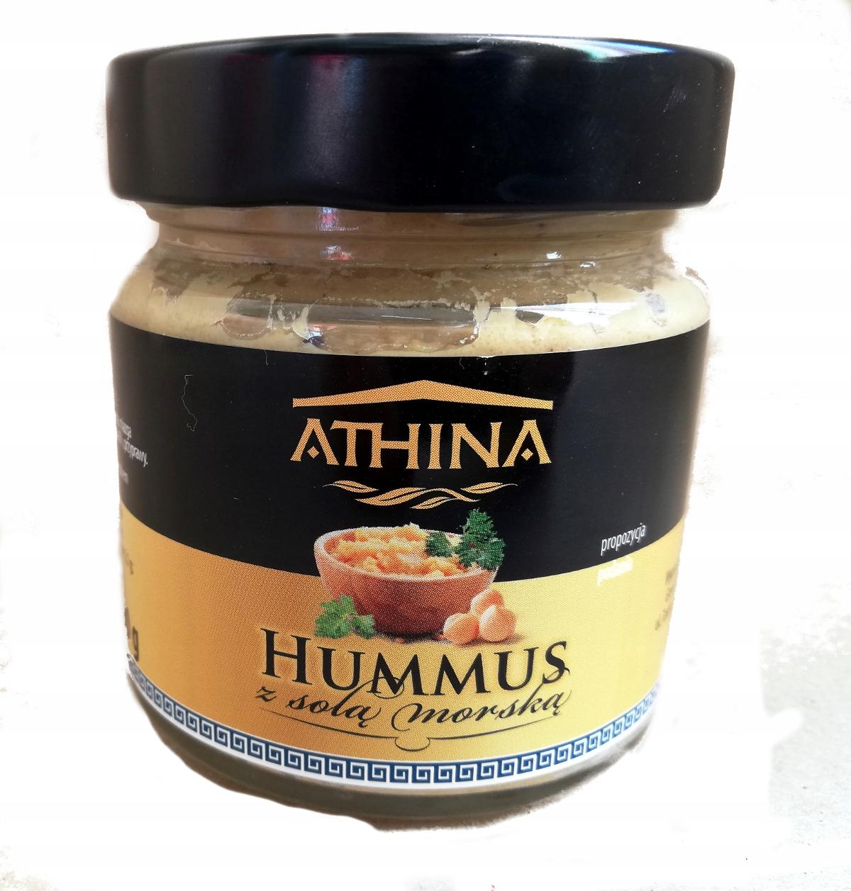 Hummus z solą morską 190g