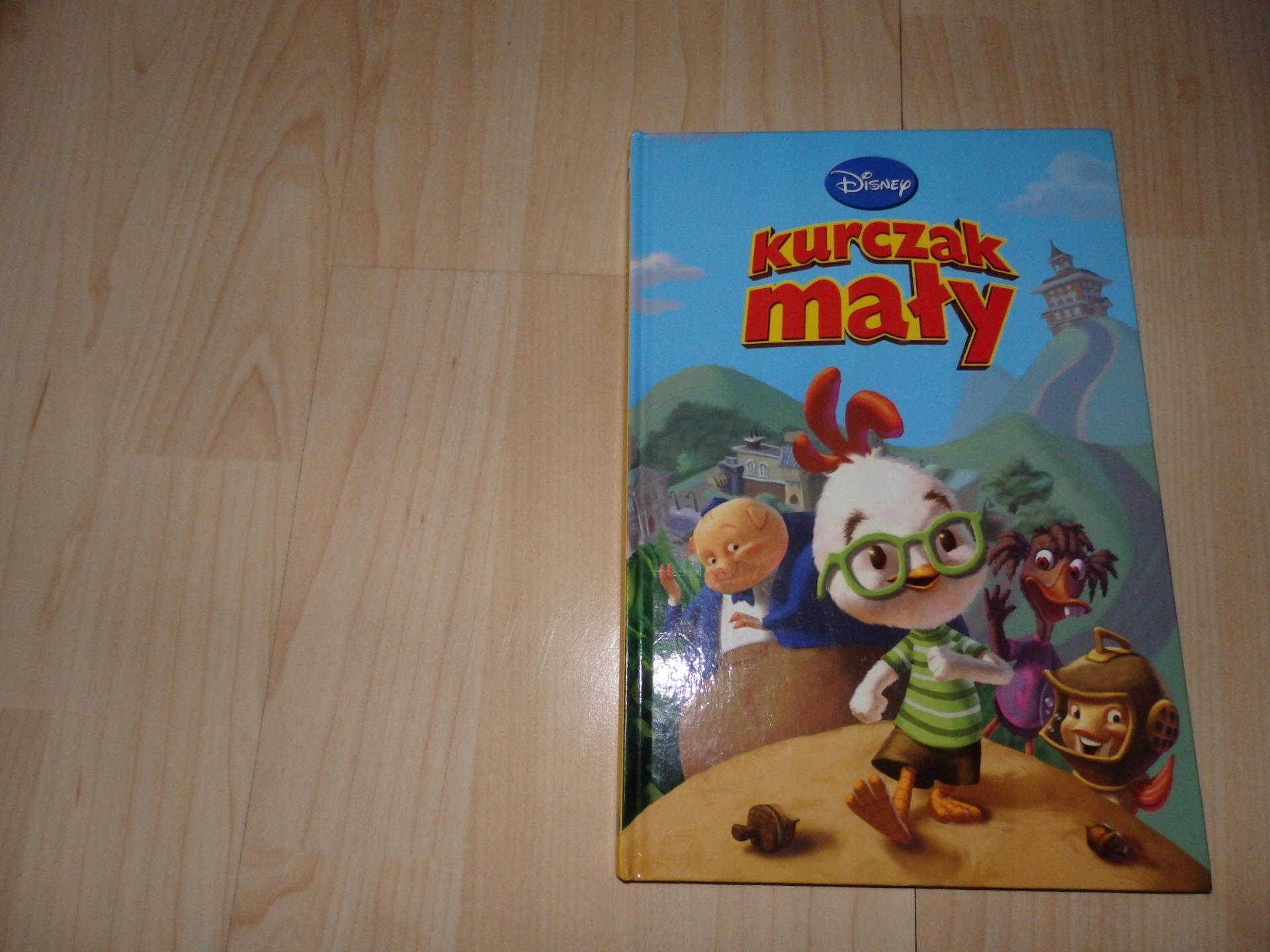 Kurczak Maly Klub Ksiazek Disney Bajki 7442268302 Oficjalne