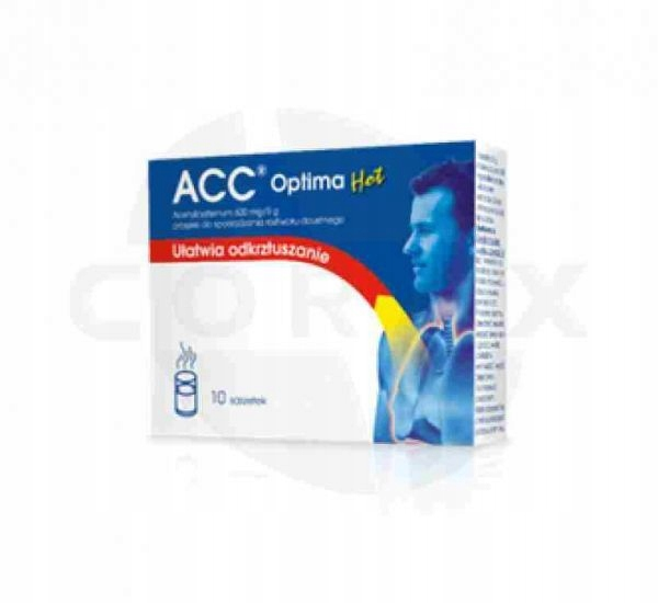 ACC Optima Active 600 mg 10 saszetek