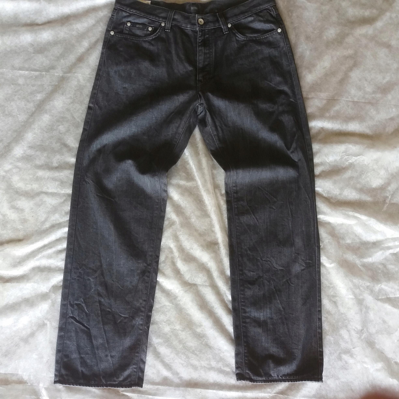 b2599bfd9c462 Spodnie HUGO BOSS r.36/32 pas 94cm - 7480691950 - oficjalne archiwum ...