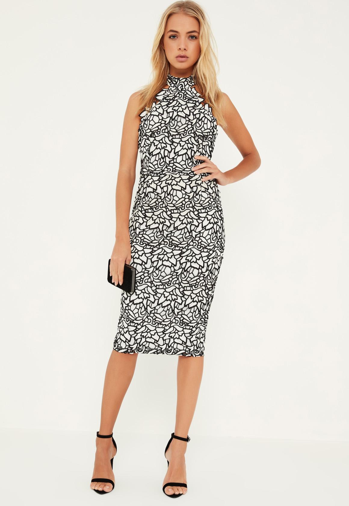 f527564918 MISSGUIDED sukienka ołówkowa koronka 42 14 - 7135046634 ...