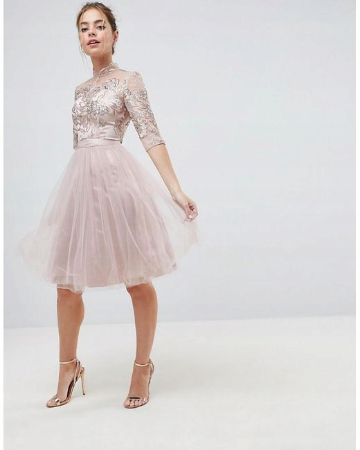 597bb0eb09 Sukienka ASOS Chi Chi London - 7606832667 - oficjalne archiwum allegro