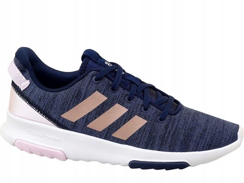 Adidas Buty biegowe damskie QT Racer Niebieski r 37 13