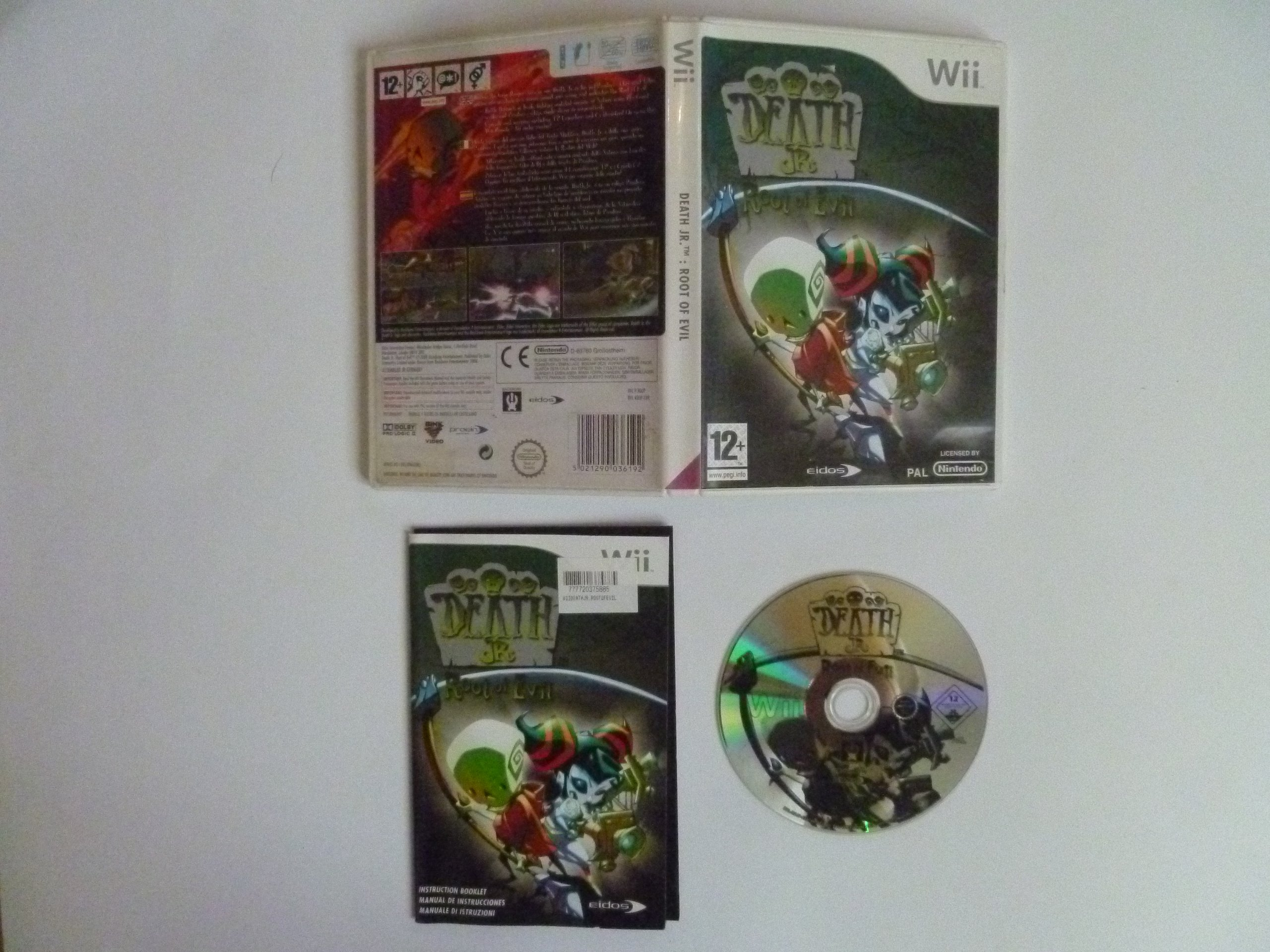 death jr ii root of evil wii