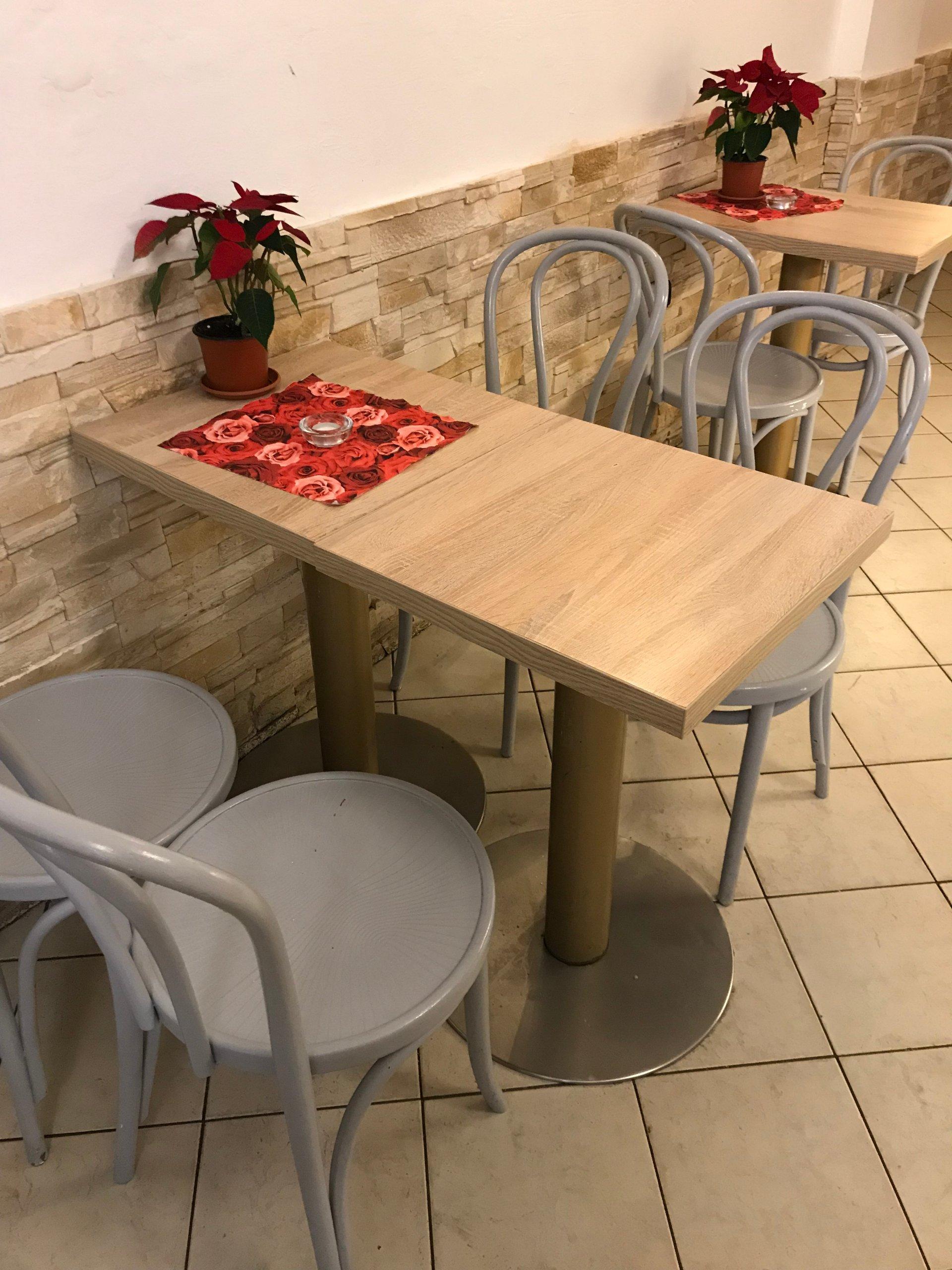 Wyposażenie Kawiarni Cukierni Krzesła Stoliki