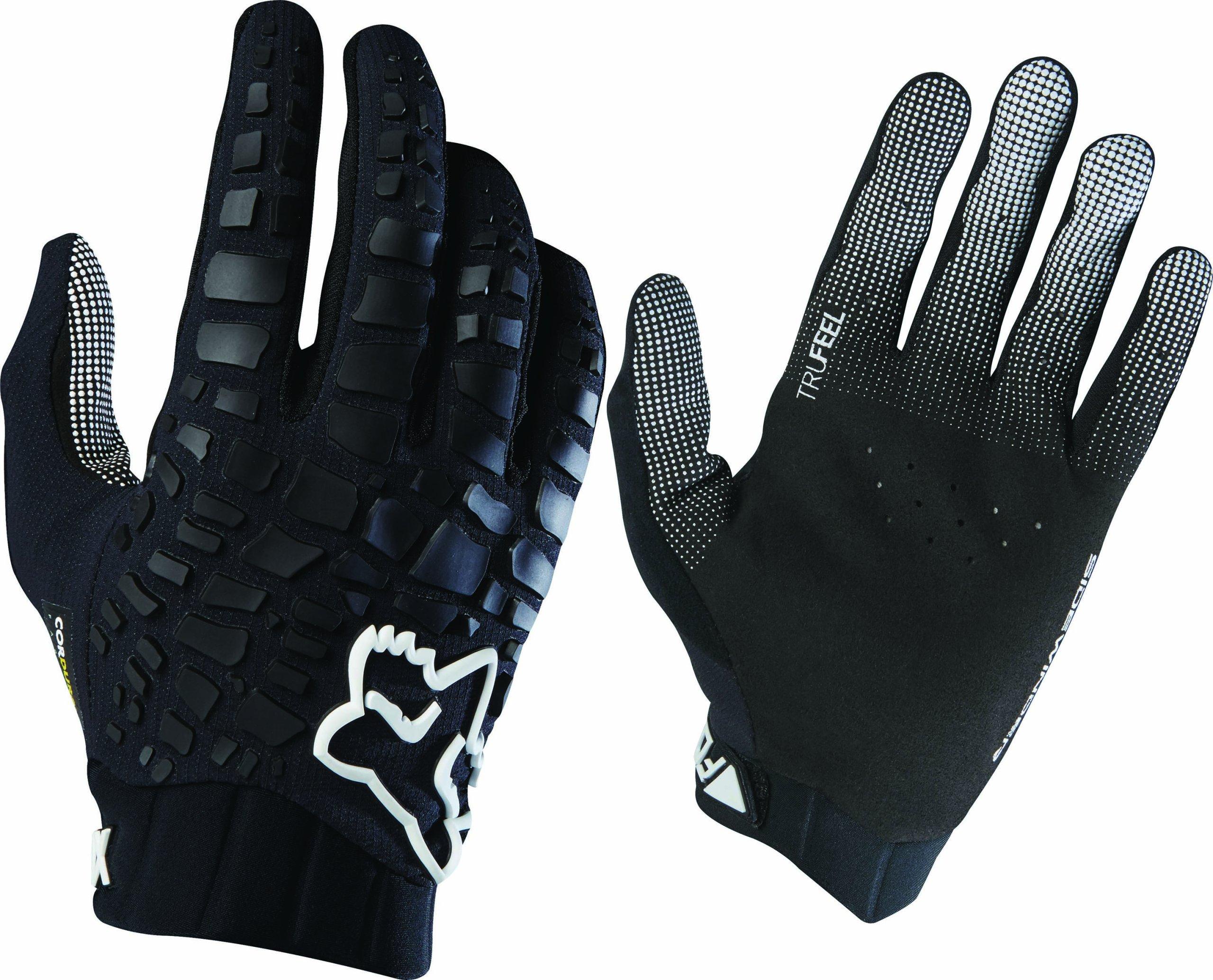 Red Black XL XXL Fox Demo Savant Cycling Gloves 2015