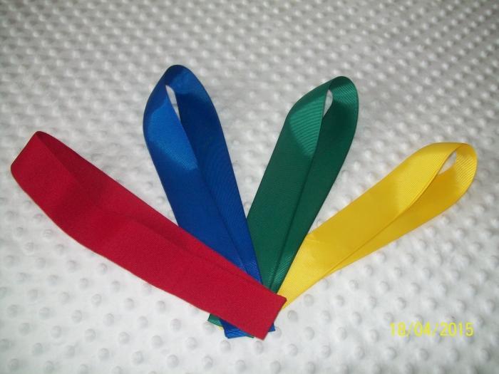 Szarfa gimnastyczna 4 kolory 1,50 m (PRODUCENT)
