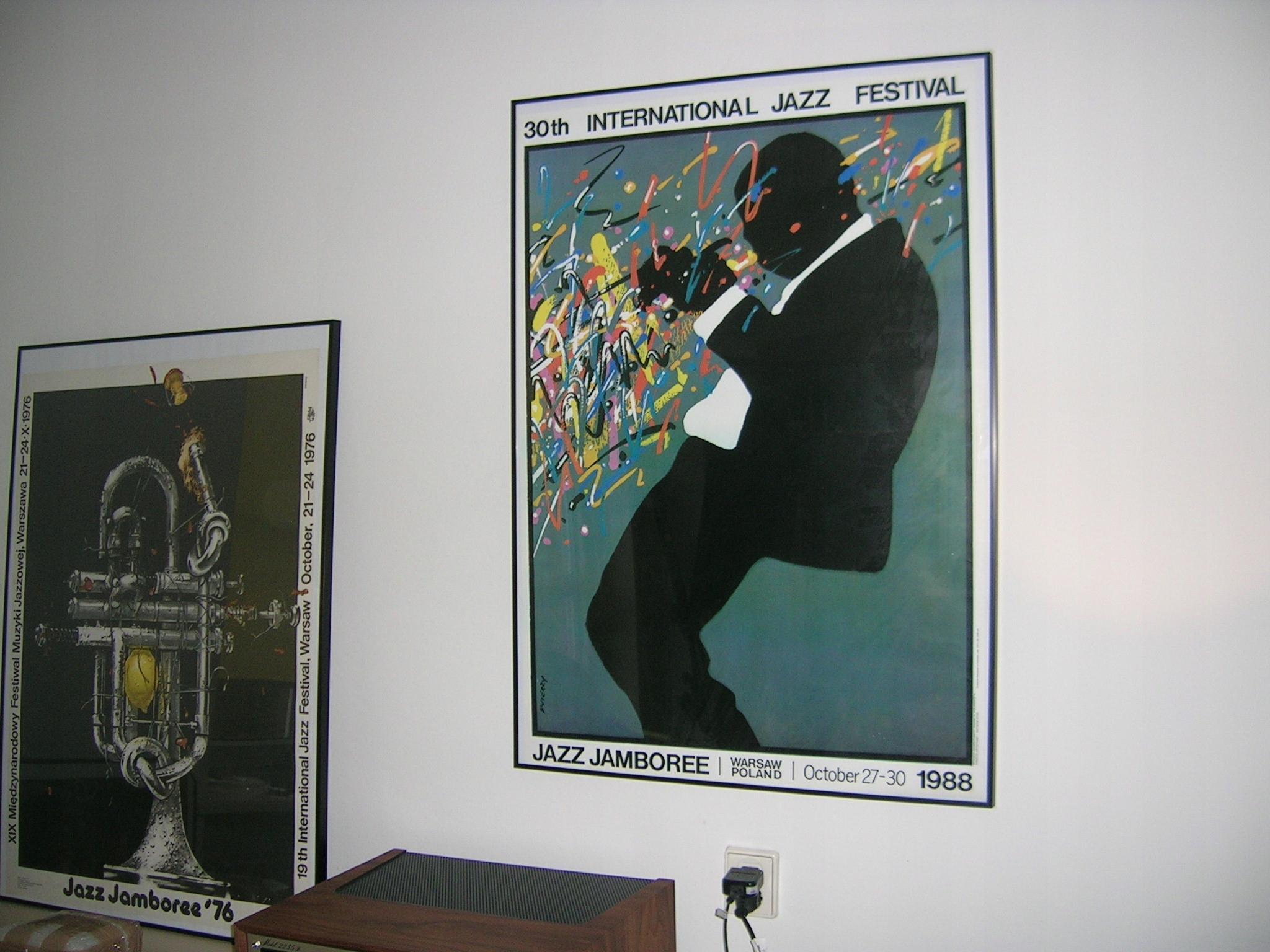 Jazz Jamboree 1988 Plakat Waldemar świerzy