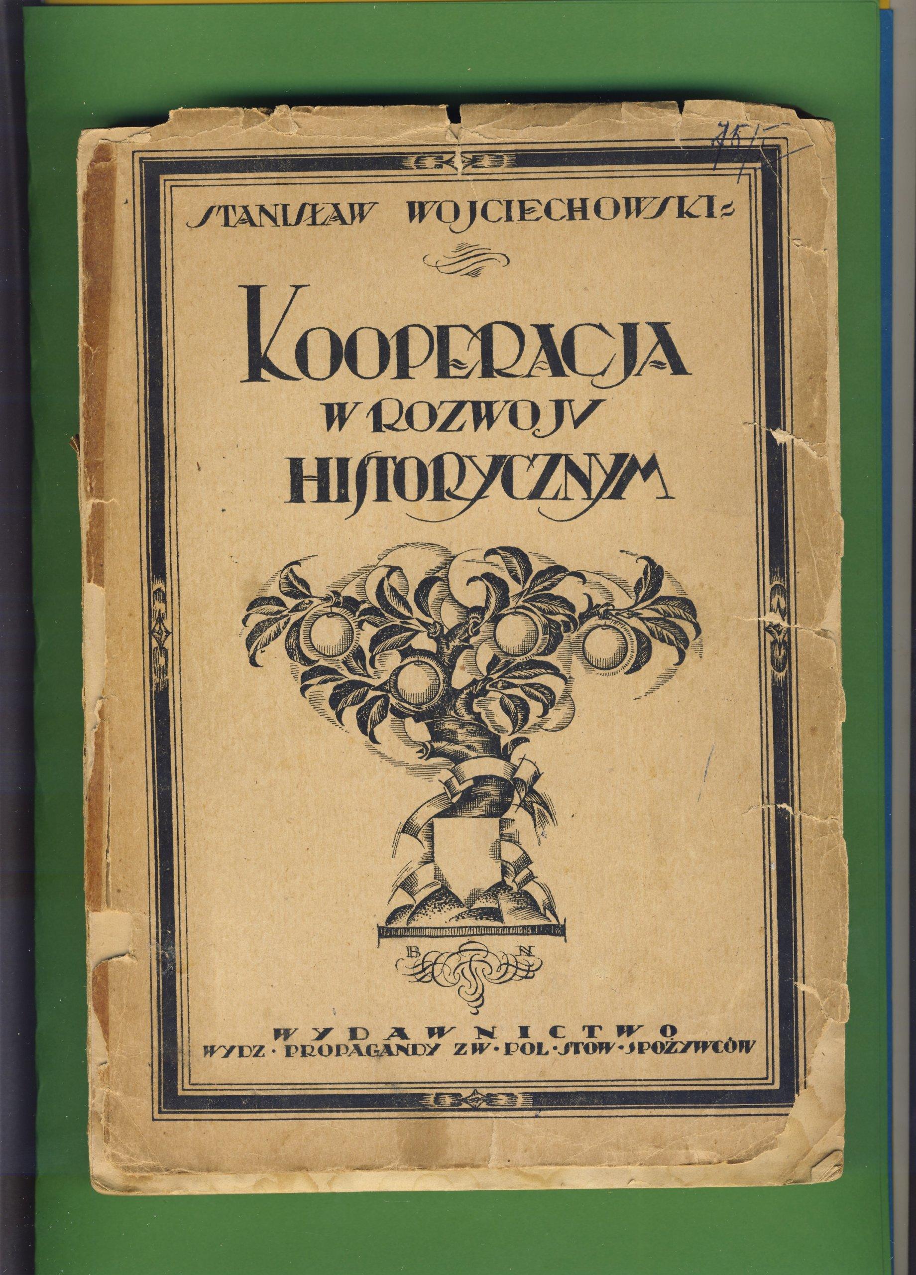Kooperacja w rozwoju historycznym - Wojciechowski