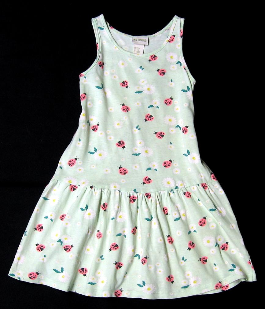 AZ447 Sukienka w biedronki H&M 116
