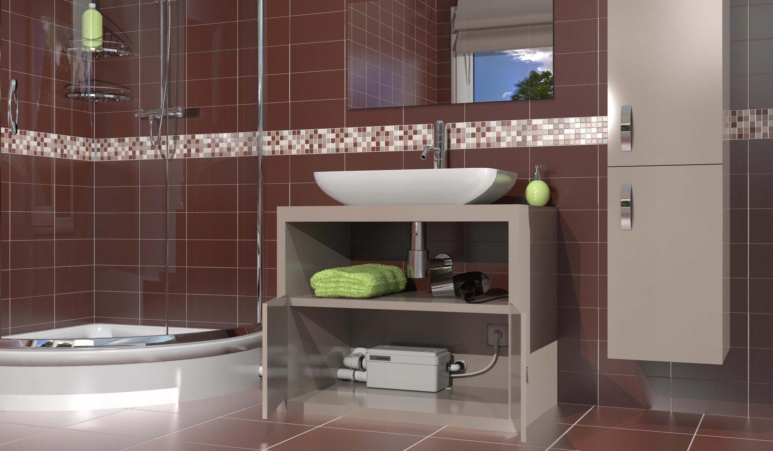 Sfa Pompa Do ścieków łazienka Bez Wc Sanidouche