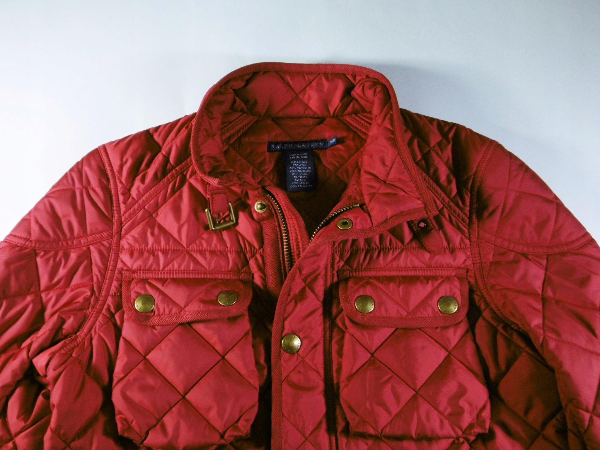 d8079a784f47f Super kurtka Ralph Lauren dams. rozm. M - pikowana - 7726971618 ...