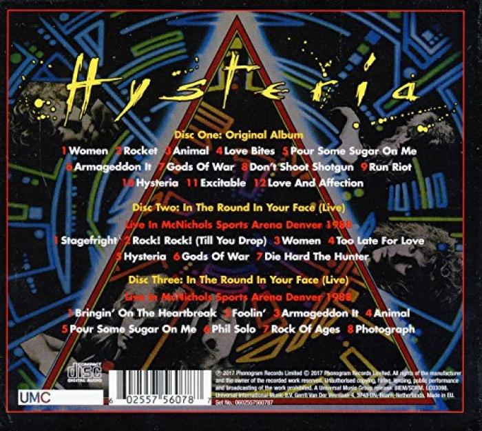 Def Leppard Hysteria - 7318029549 - oficjalne archiwum allegro