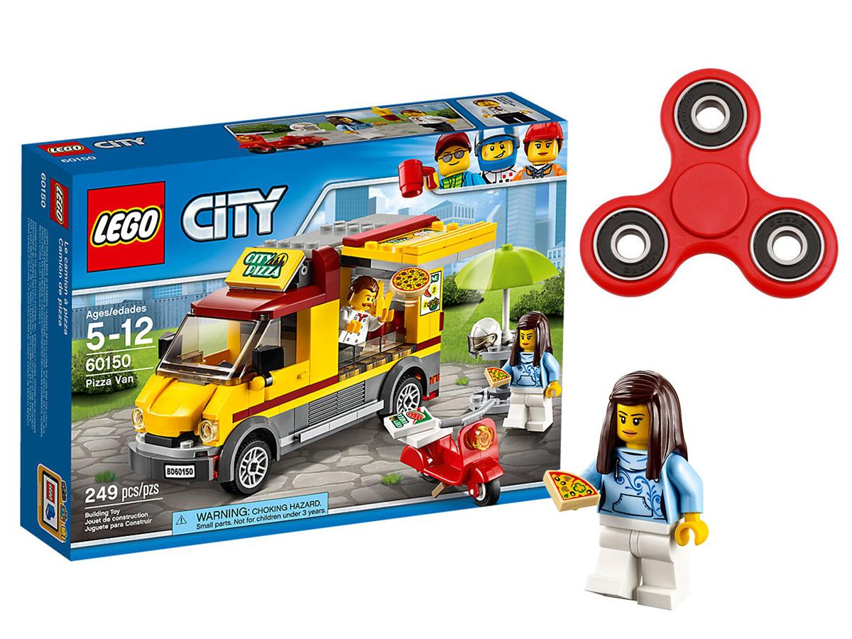 Lego City Klocki Foodtruck Z Pizzą 60150 Spinner 7222636666