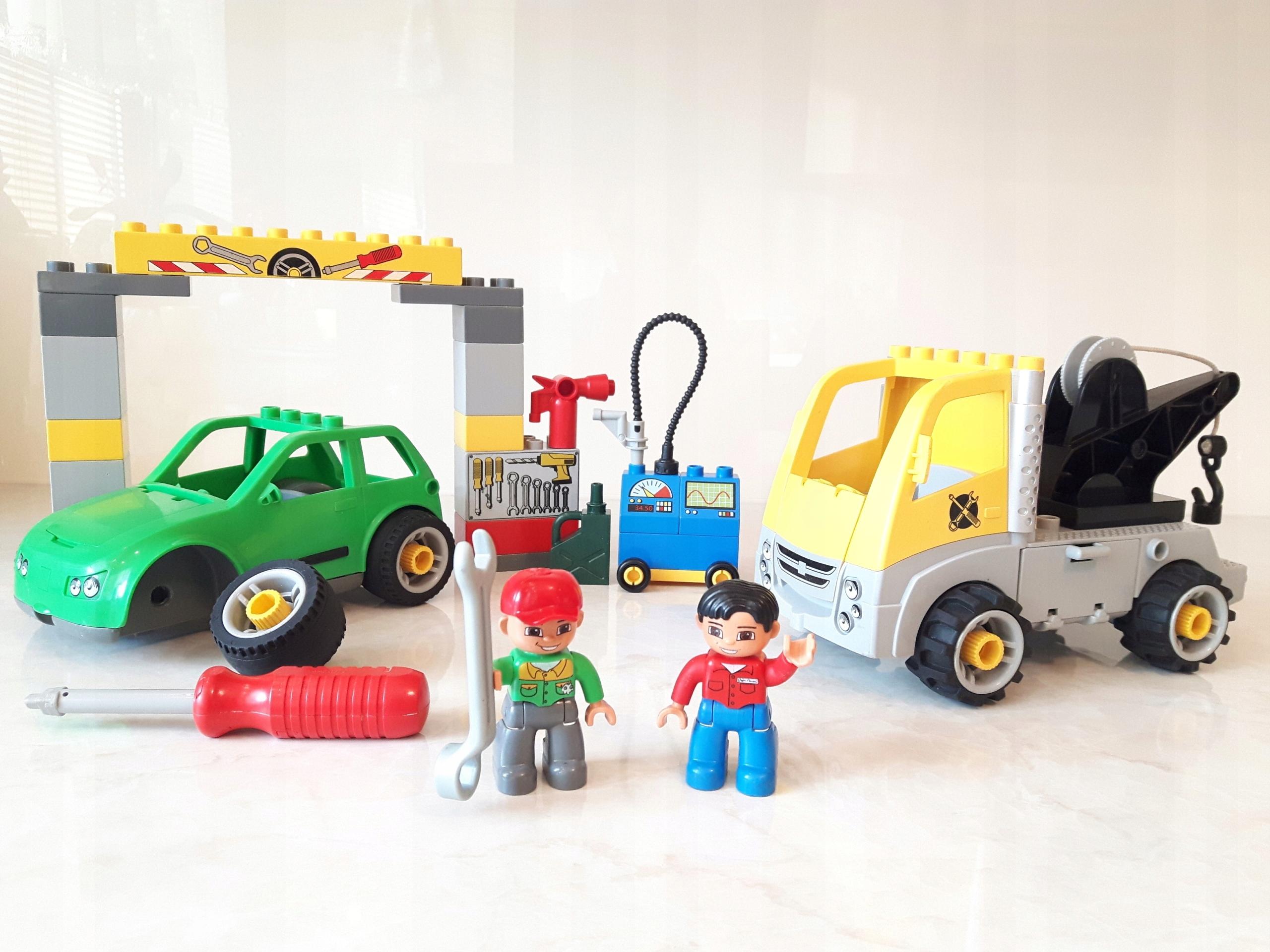 Lego Duplo Warsztat Samochodowy 5641 Auto Laweta 7551918644
